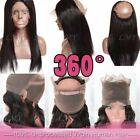 7A Lace Frontal Closure wave 100% Virgin Brazilian Human Hair Lace Band Any Type