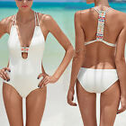 New Swimwear Women Padded Bandage Monokini Swimsuit Beachwear Push-up Bikini Set