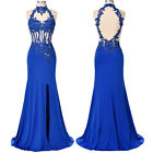 GK Long Evening Dress Formal Party Cocktail Wedding Mermaid Bridesmaid Prom Gown