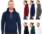 American Apparel Pullover Hoodie Flex Fleece Basic Sweatshirt Drop Shoulder F498