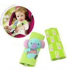 2x Cartoon Animal Baby Car Seat Stroller Shoulder Soft Pad Belt Strap Cover Hold