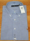 NEW NWT Polo Ralph Lauren Mens Long Sleeve Button Down Dress Shirt Pony Logo *W6
