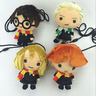 1*PC Beans Collection  Harry Potter Hermione Ron Malfoy 18cm plush coin bag
