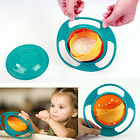 New Children Baby Universal 360 Degree Rotate Spill-Proof Gyro Bowl Dishes