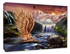 ~ Angel Picture Fantasy New Age Abstract Spiritual Box Canvas Print