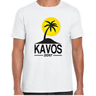 Kavos 2017 Holiday - MensT shirt - tour stag clubbing Palm