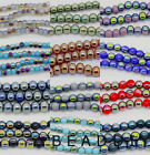 150pcs 4mm Crystal Glass AB Colours Beads DIY JEWELRY round Spacer Loose Beads