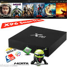 X96 Smart TV Box S905X Quad Core Android 6.0 4K HDMI 2.0 WiFi Movie Media Player