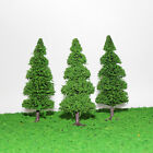 S0405 10pcs Model Train Trees Pine Railroad Scenery Layout HO OO Scale NEW
