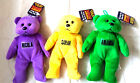 Teddy Bear Bean Bag Mates (Personalised) Amanda Sarah Nicola Named Bears Bnwt