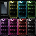 TPU Soft phone Case 9 color change in 1 flash Luminous Cover for iphone6/7/7p