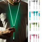 Sports In-ear Zipper Earphone Stereo Headset Earbuds Headphone with Mic Phone
