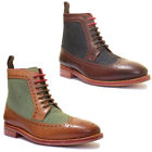 Justin Reece Connor Mens Leather Matt Shoes