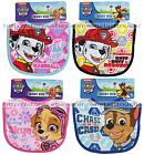 REGENT Cotton+Polyester PAW PATROL 0+ Months CHARACTER BABY BIB New *YOU CHOOSE*