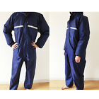 Conjoined raincoats overalls Electric motorcycle fashion men women work suit LAC