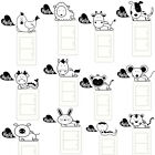 2017 Cartoon Animal Home Decoration Switch Sticker Wall Stickers for Kids Room