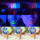 1X Woman Face Body Fluorescent Lipstick Paint UV Glow Neon Night Party Club Hot