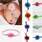 FAD 10Pcs Wholesale Baby Girls Infant Toddler Flower Headband Chiffon Hair Band