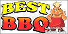 (CHOOSE YOUR SIZE) Best BBQ DECAL Concession Food Truck Vinyl Sticker