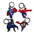 12pcs New Avenger Keychain Cartoon pendant Keyring Mobile Phone kid accessories