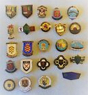 VINTAGE BOWLING CLUB BADGES - WALES & SOUTH WEST -  ALL LISTED  WITH PHOTO'S