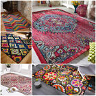 Traditional Bright Vintage Look Colourful Rug in Various sizes and Models Carpet