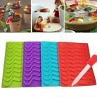 20 Chocolate Jelly Candy Ice Tray Silicone Maker Gelatin Gummy DIY Mold Mould