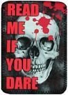"""Read Me If You Dare Cover, Case, Pouch fits Kindle Fire 7 or Fire HD 8 8"""" Tablet"""
