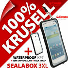New Krusell Sealabox 3XL Waterproof Mobile Phone Case Cover Pouch Underwater