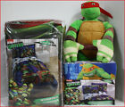 5 / 6 pc - Teenage Mutant Ninja TURTLES Comforter + Sheet + Plush Turtle Buddy