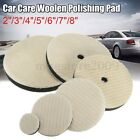 2/3/4/5/6/7/8Inch Woolen Buffing Sponge Polishing Pad Car Auto Polisher Buffer