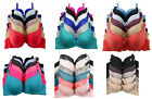 Wholesale Lingerie Lot 1 3 6 Women Wired Light Pad Full Cup Lace Plain D/DD Bra