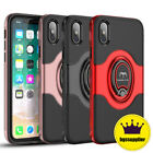 For iPhone SE2 XR X XS Max 6S 7 8 Plus 11 Pro Max Ring Holder Slim Case Cover
