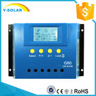 80A 60A 30A PWM Solar Charge Controller Battery Regulator Backlight LCD USB