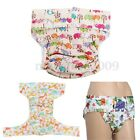 Washable Printed Adult Diaper Pant Reusable Cloth Underwear Incontinence Nappy