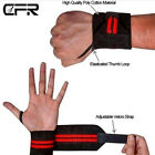 Pairs Gym Sports Workout Wrist Wrap Weight Lifting Straps Hand Support Wristband