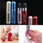 2 PCS 5ml Perfume Aftershave Atomizer Empty Bottle Pump Travel Refillable Spray
