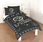 5 Seconds Of Summer 5SOS Duvet Cover Bed Set, Black White, Single, New Bedding