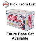(HCW) 2011-12 Panini Score Glossy 251-500 NHL Hockey Cards - You Pick From List $0.7 USD on eBay