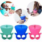 Flexible Durable Milti Wearable Nail Polish Bottle Holder Silicone Display Stand