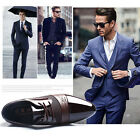 New Men's Dress Formal Oxfords Leather shoes Business Dress Fashion Casual Shoes