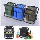 4 Colors Portable Backpack Fold Beach Chair Cooler Bag Camping Hiking Equipment