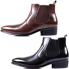 New Mooda Leather Men Formal Dress Casual Fashion Ankle Chelsea Boots Shoes