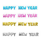 "16"" ""HAPPY NEW YEAR"" Letters 12 Pcs Foil Balloons Party Decor 4 Color Choose"