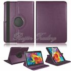 Slim 360 Rotate PU Leather Case Cover Pouch Stand for Samsung Galaxy Table 10.1""