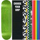 """Skateboard Deck Pro 7-Ply Canadian Maple STAINED GREEN With Griptape 7.5"""" - 8.5"""""""