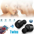 Mini Twins True Wireless Earphone Bluetooth 4.2 Stereo Earbuds In-Ear Headsets