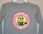 NWT ☀MINION☀ OFFICIAL COOKIE TASTER Boys t-shirt LONG SLEEVE DESPICABLE ME 3T