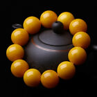 Second generation beeswax chicken oil yellow round fashion elastically bracelets