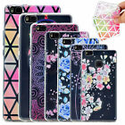 Clear Relievo TPU Case Ultra Thin Soft Silicone Painted Cover for Huawei & LG